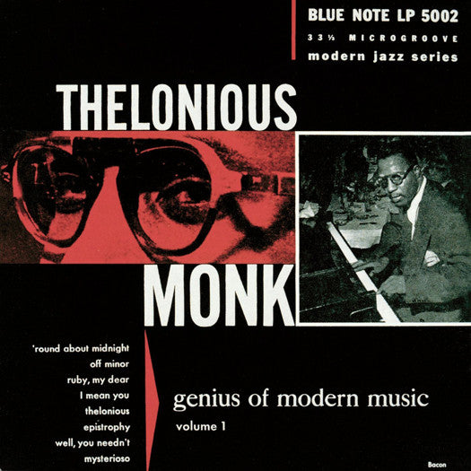 THELONIOUS MONK GENIUS OF MODERN VOL ONE LP VINYL NEW 33RPM 2014