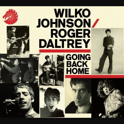 WILKO JOHNSON ROGER DALTREY GOING BACK HOME LP VINYL 33RPM 2014 NEW