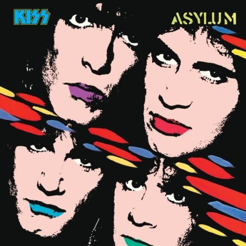 KISS ASYLUM LP VINYL 33RPM NEW