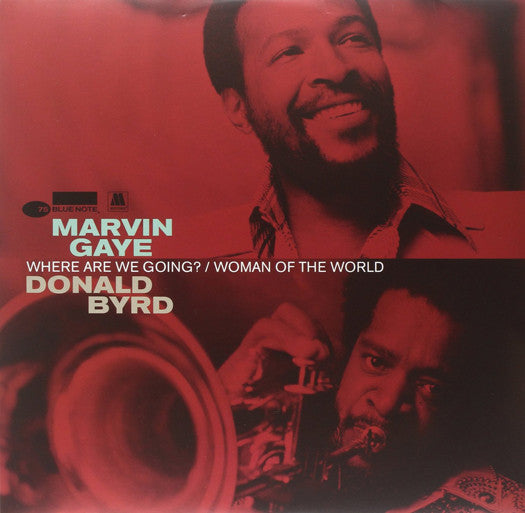 MARVIN & BYRD DONALD GAYE WHERE ARE WE GOING LP VINYL NEW (US) 33RPM