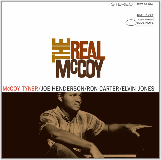 MCCOY TYNER THE REAL MCCOY LP VINYL 33RPM NEW