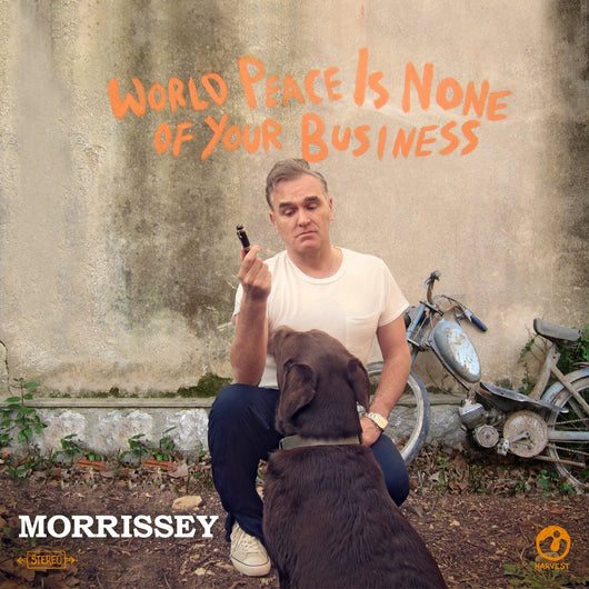 MORRISSEY WORLD PEACE IS NONE OF YOUR BUSINESS LP VINYL 33RPM NEW