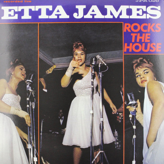 ETTA JAMES ROCKS THE HOUSE BLUE LP VINYL NEW (US) 33RPM