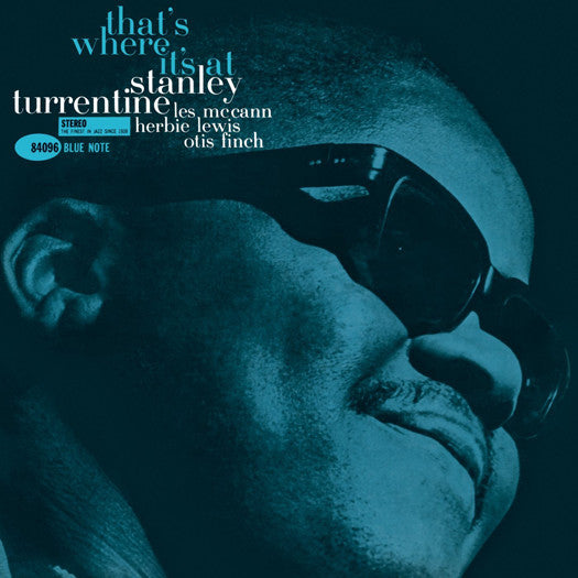 STANLEY TURRENTINE THATS WHERE ITS AT LP VINYL NEW 2014 33RPM
