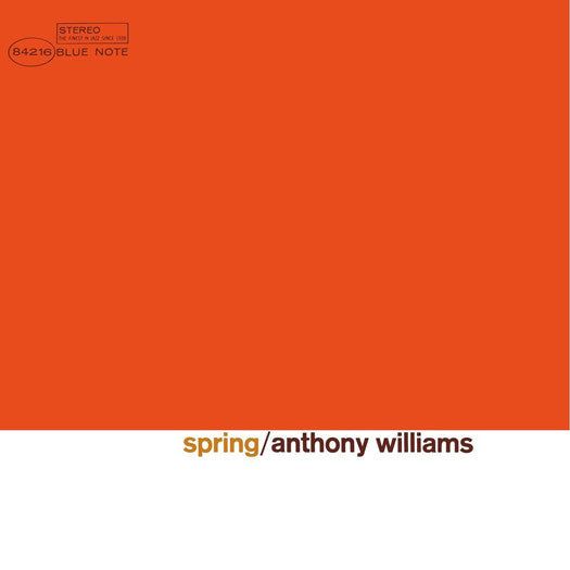 ANTHONY WILLIAMS SPRING LP VINYL NEW 33RPM 2014