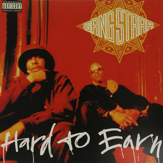 GANG STARR HARD TO EARN LP VINYL NEW (US) 33RPM