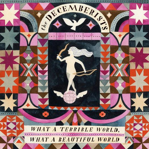 DECEMBERISTS WHAT A TERRIBLE WORLD A BEAUTIFUL WORLD LP VINYL NEW (US)