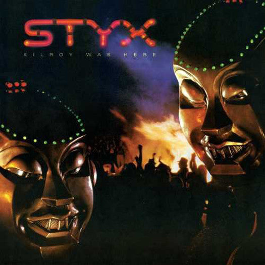 STYX KILROY WAS HERE LP VINYL NEW 33RPM