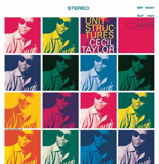 CECIL TAYLOR UNIT STRUCTURES LP VINYL NEW 33RPM