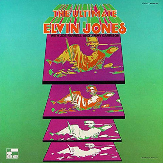 ELVIN JONES THE ULTIMATE LP VINYL NEW 33RPM