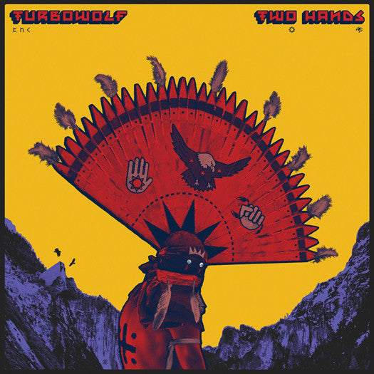 TURBOWOLF TWO HANDS LP VINYL NEW 33RPM