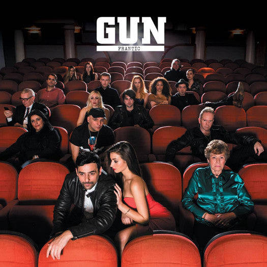 GUN FRANTIC LP VINYL NEW 2015 33RPM
