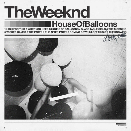 WEEKND HOUSE OF BALLOONS DOUBLE LP VINYL NEW 33RPM