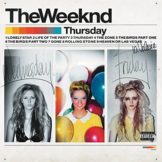 WEEKND THURSDAY Double LP Vinyl NEW 33RPM