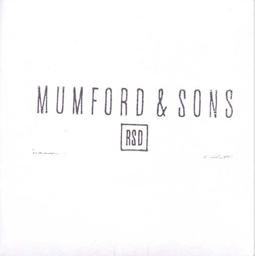 MUMFORD & SONS 7 INCH VINYL SINGLE NEW RECORD STORE DAY