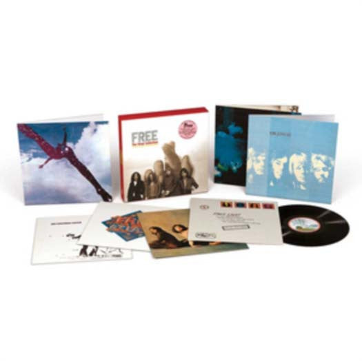 FREE The Vinyl Collection 7LP Vinyl Set NEW
