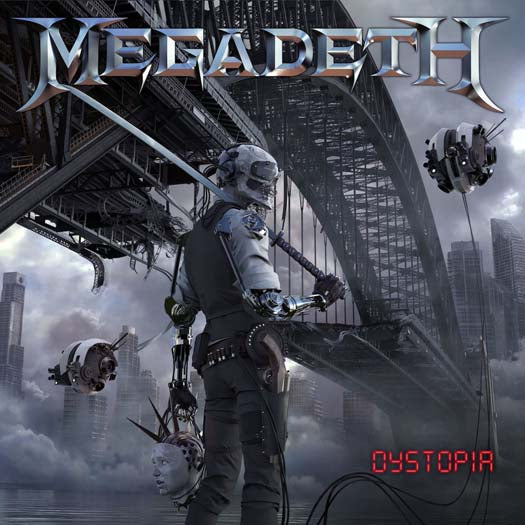 MEGADEATH DYSTOPIA LP PICTURE DISC VINYL 33RPM NEW