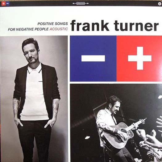 FRANK TURNER POSITIVE SONGS ACCOUSTIC LP VINYL NEW 33RPM RSD 2016