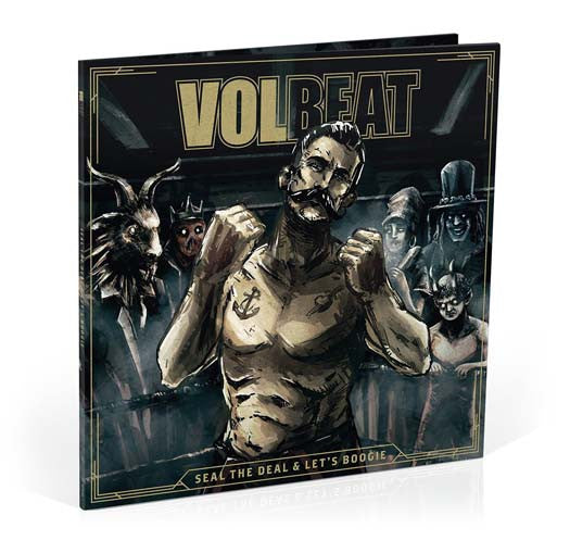 VOLBEAT Seal The Deal & Let's Boogie LP Vinyl & CD NEW