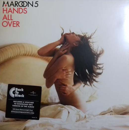 MAROON 5 Hands All Over 1LP Vinyl NEW