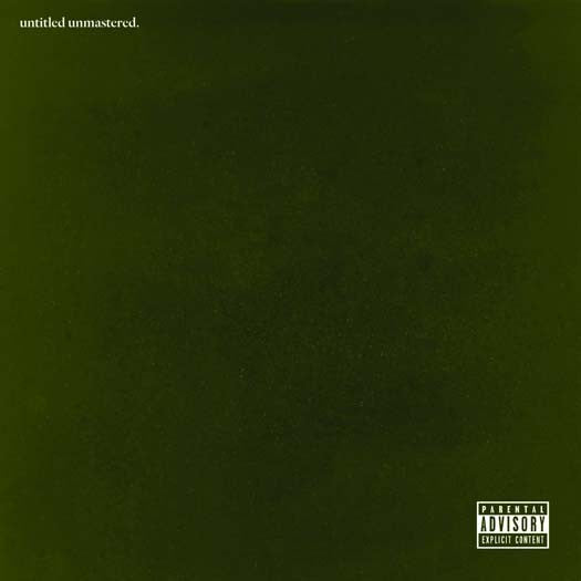 KENDRICK LAMAR Untitled Unmastered 12