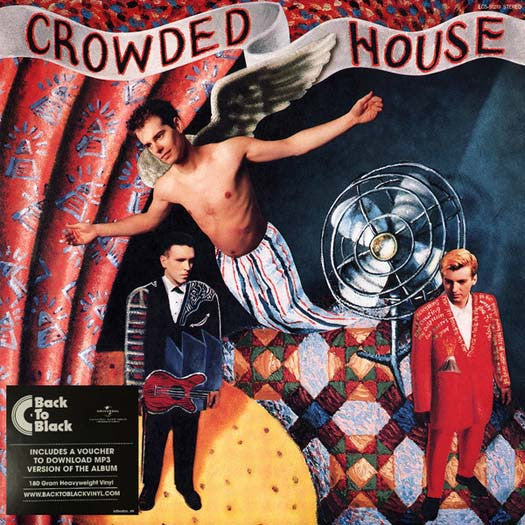 CROWDED HOUSE Crowded House LP Vinyl Reissue NEW 2016