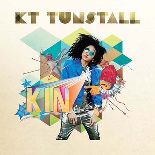 KT TUNSTALL KIN Colour LP Vinyl NEW