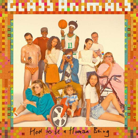 GLASS ANIMALS How To Be A Human Being LP Vinyl NEW