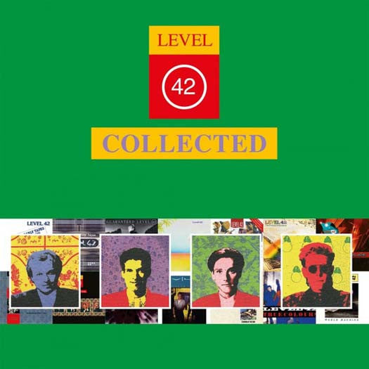 LEVEL 42 COLLECTED LP Vinyl NEW