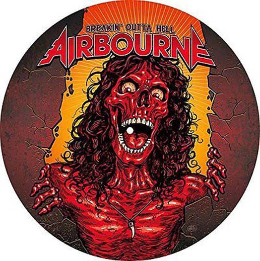 AIRBOURNE Breakin Outta Hell LP Pic Disc Vinyl NEW 2016