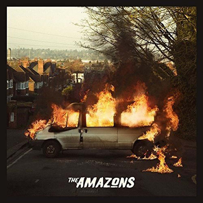 The Amazons Self Titled Album Vinyl LP Clear Edition 180gm 2017