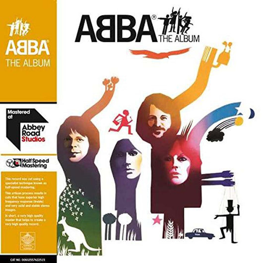 ABBA The Album 2LP Vinyl Half-Speed Master NEW 2017