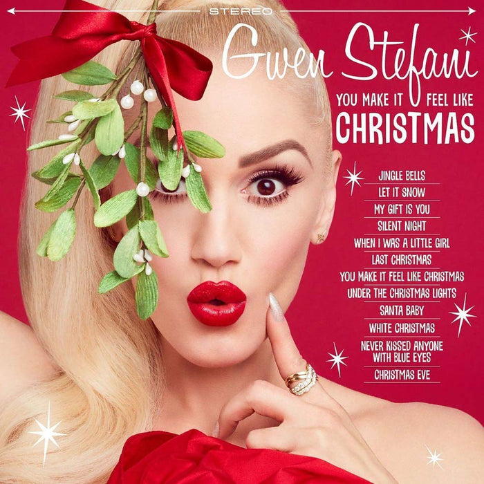 GWEN STEFANI You Make It Feel Like Christmas LP Vinyl NEW 2017