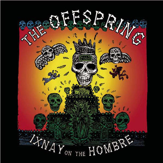 THE OFFSPRING Ixnay On The Hombre LP Coloured Vinyl NEW 2017
