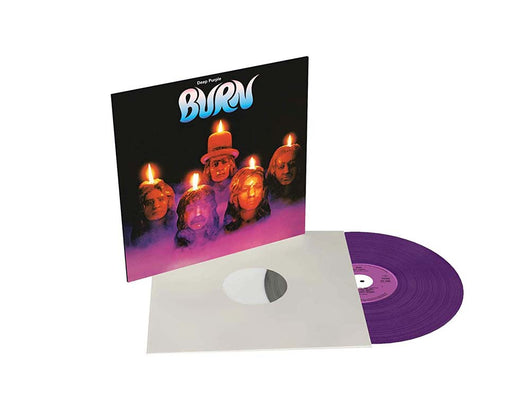 Deep Purple Burn Coloured Vinyl LP New 2018