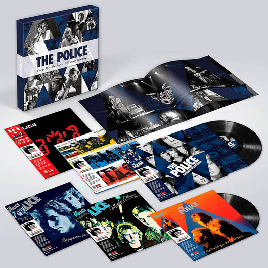 Police Every Move You Make Studio Recordings Vinyl LP Boxset New 2018