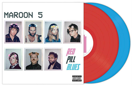 Maroon 5 Red Pill Blues Vinyl LP New 2018