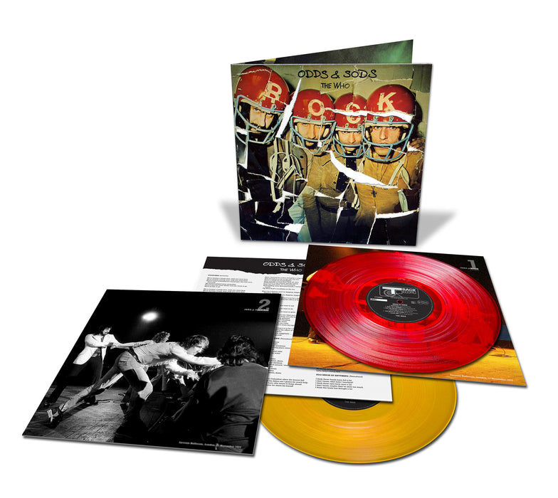 The Who - Odds And Sods Vinyl LP Red & Yellow RSD Aug 2020