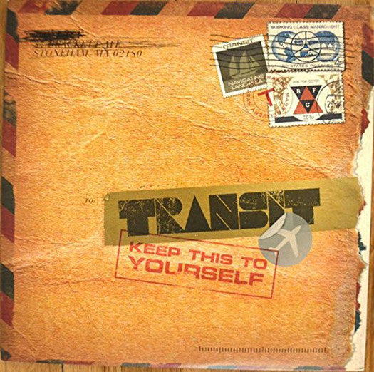 TRANSIT KEEP THIS TO YOURSELF LP VINYL NEW (US) 33RPM