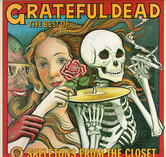 Grateful Dead Skeletons from the Closet White Vinyl LP New 2019