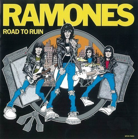 Ramones Road to Ruim Blue Vinyl LP New 2019