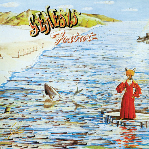 GENESIS FOXTROT LP VINYL NEW (US) 33RPM