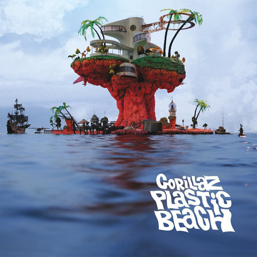 GORILLAZ PLASTIC BEACH LP VINYL NEW (US) 33RPM