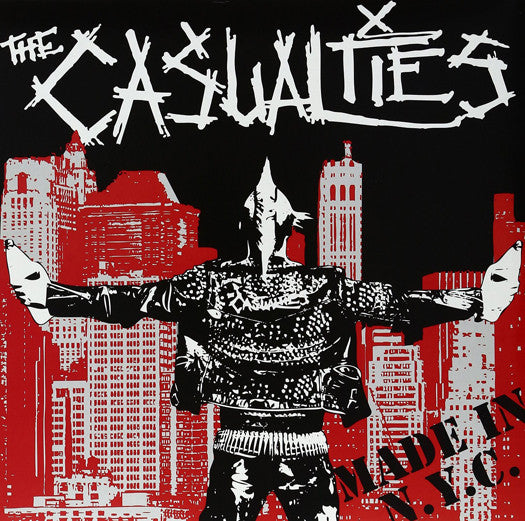 CASUALTIES MADE IN NYC LP VINYL NEW 33RPM LIMITED EDITION