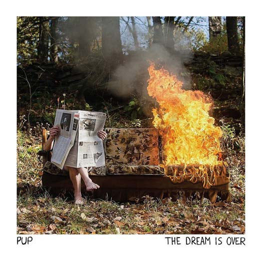 PUP The Dream Is Over Limited Edition Colour LP Vinyl NEW