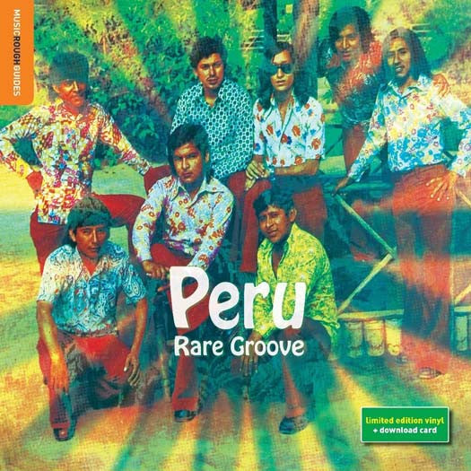 Rough Guide to PERU RARE GROOVE LP Vinyl NEW 2017