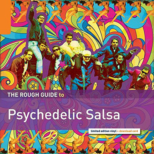 ROUGH GUIDE TO PSYCHEDELIC SALSA GROOVE LP VINYL NEW 33RPM 2015