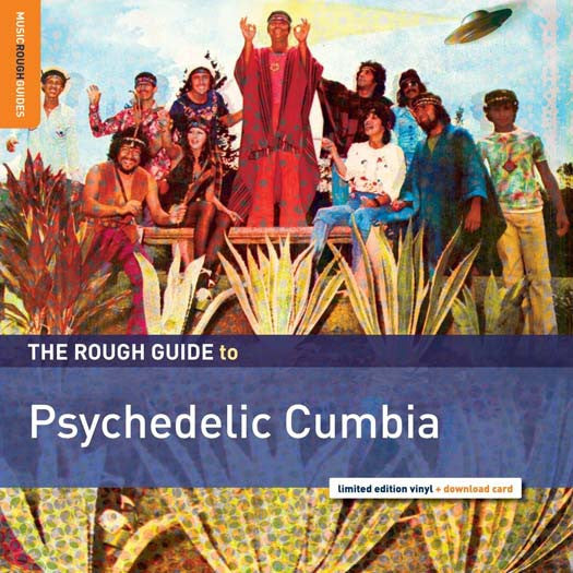 ROUGH GUIDE TO PSYCHEDELIC CUMBIA LP VINYL NEW 33RPM