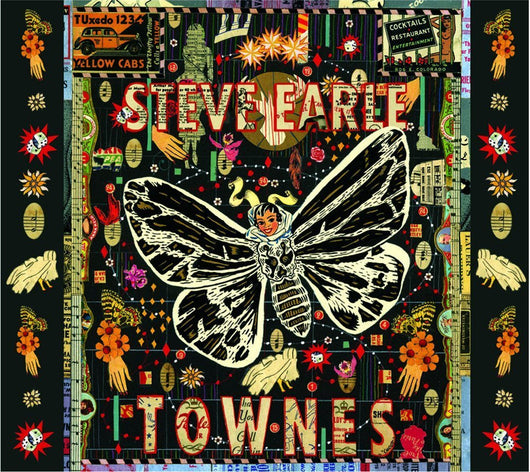 STEVE EARLE TOWNES 2009 LP VINYL NEW 33RPM