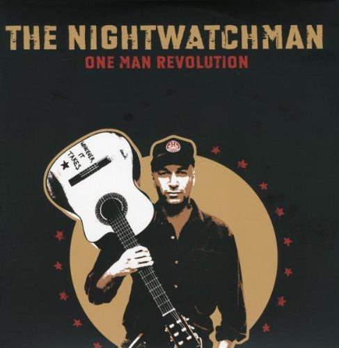 TOM MORELLO THE NIGHTWATCHMAN ONE MAN REVOLUTION 2007 LP VINYL NEW 33RPM